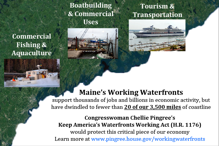 Working waterfronts infographic